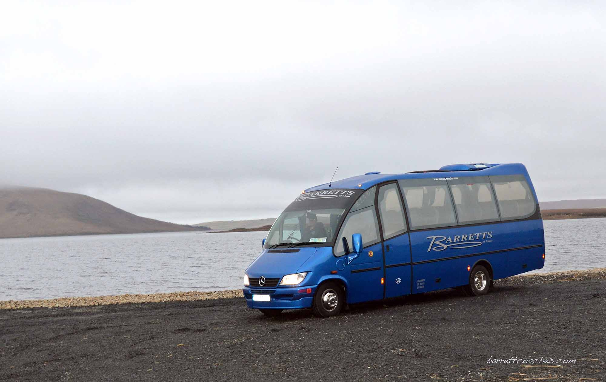 Barrett Coaches 22 seater exterior