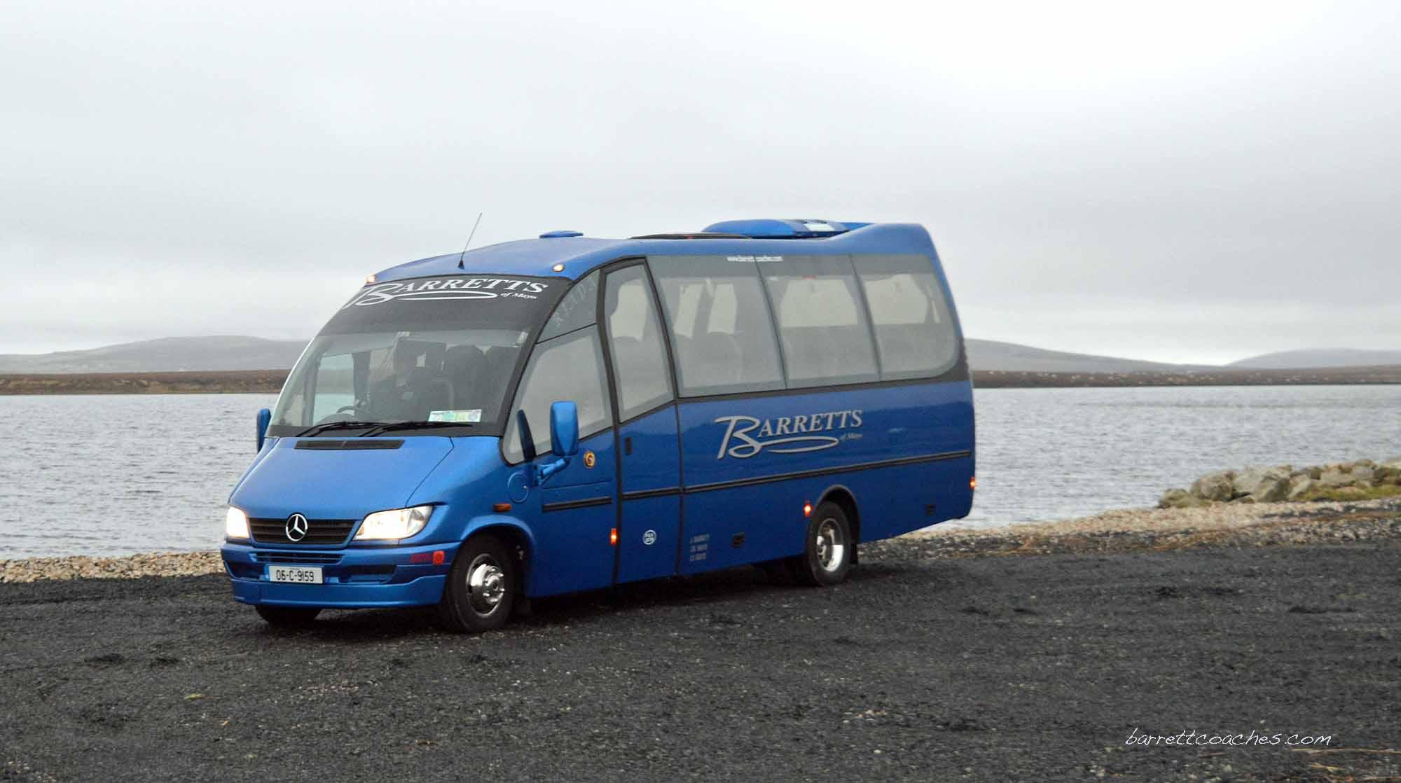 Barrett Coaches 22 seater exterior