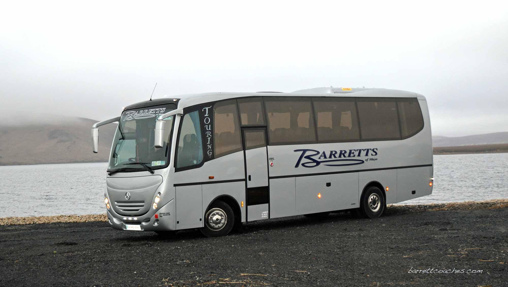 Barrett Coaches 35 seater exterior
