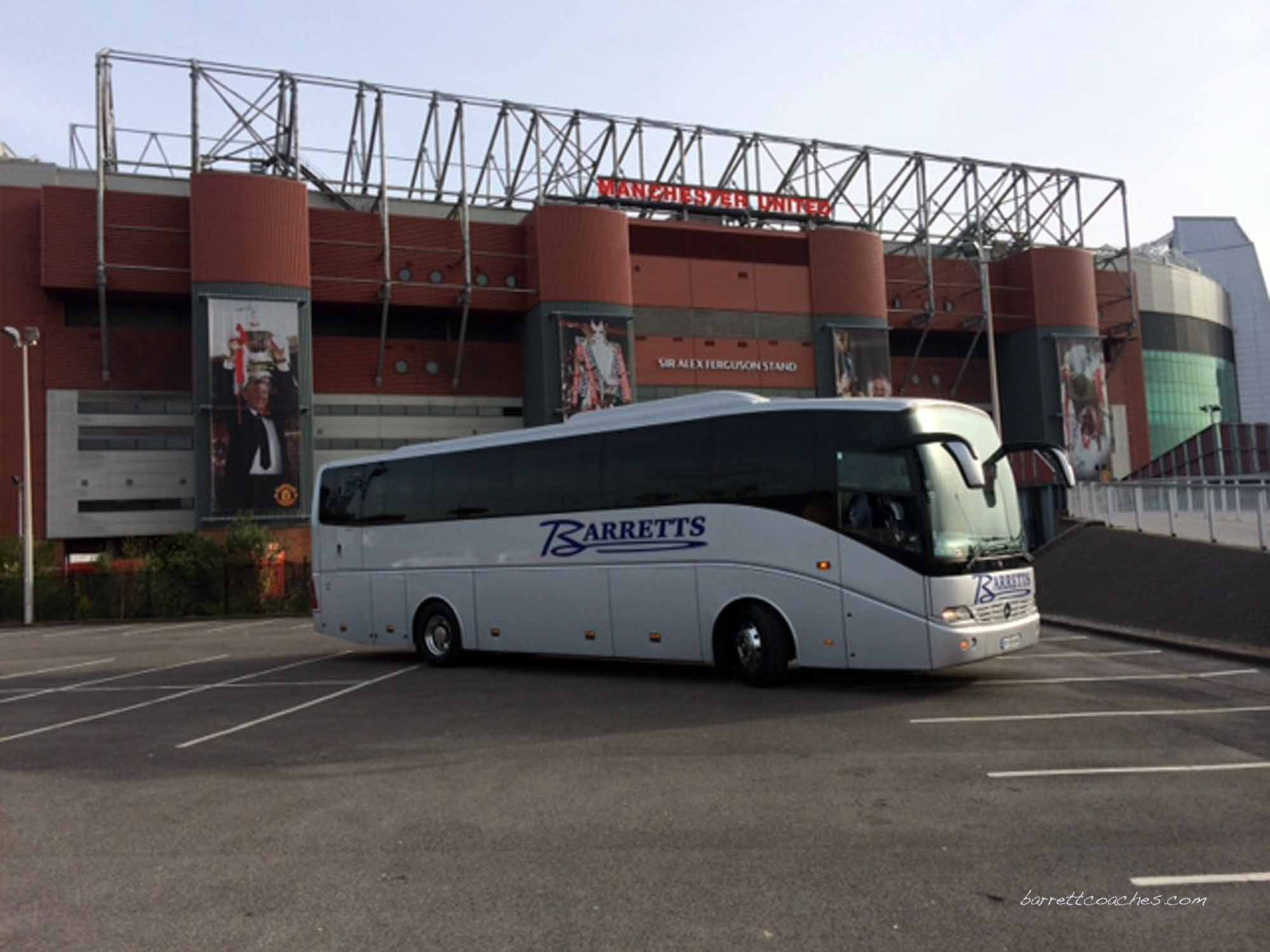 Barrett Coaches 53 seater exterior