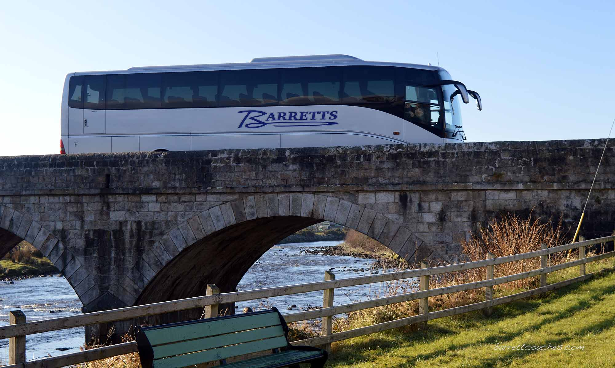 Barrett Coaches 53 seater exterior