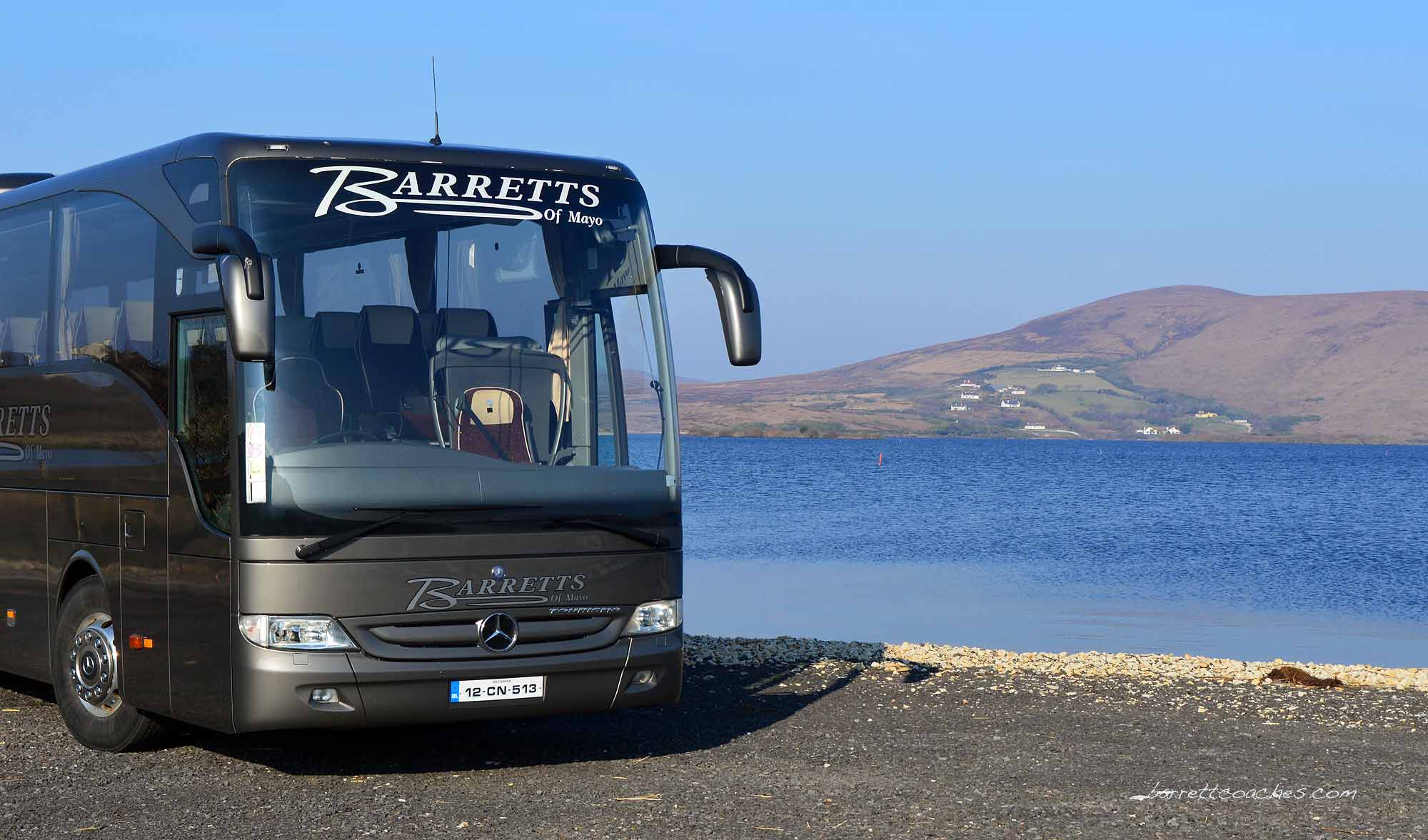 Barrett Coaches 51 seater Exterior