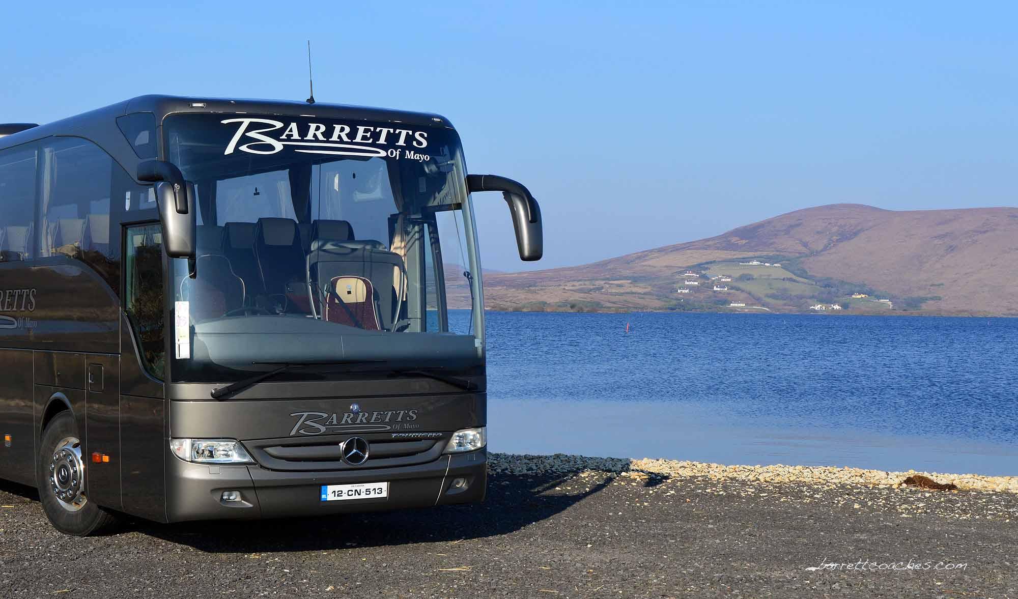 Barrett Coaches 51 seater Exterior